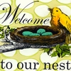 Welcome to Our Nest Canvas Wall Art