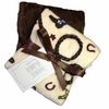 Western Burp Cloth Set