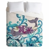 Whale Blossom Luxe Duvet Cover