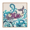 Whale Blossom Framed Wall Art
