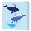 Whales Canvas Wall Art