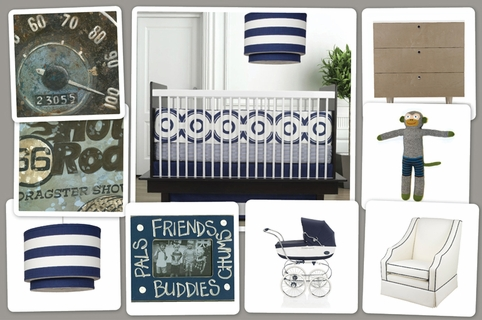 Wheels Motif Nursery