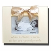 When a Child is Born Cream Picture Frame