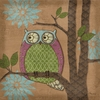 Whimsical Owl IV Canvas Wall Art