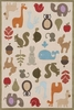 Whimsy Animals Rug