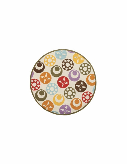 Whimsy Dots and Colors Rug