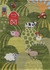 Whimsy Farm Rug in Grass