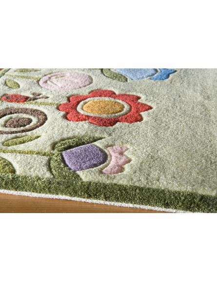 Whimsy Flowers in Bloom Rug