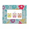 Whimsy Multi Fabric Covered Picture Frame