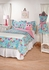 Whimsy Multi Tiger lily Fuchsia Twin Comforter and Sham Set