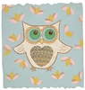 Whimsy Owl Canvas Reproduction