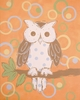 Whimsy Owl Hand Painted Canvas