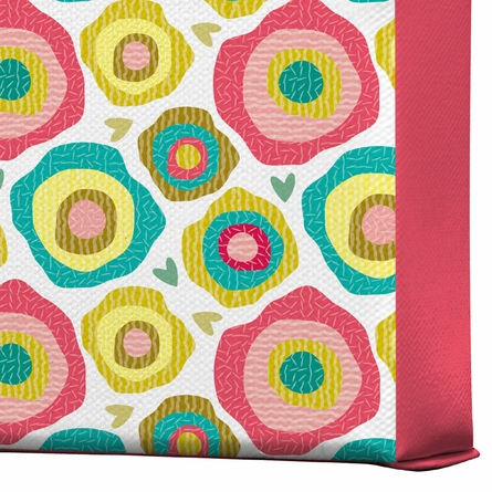 Whimsy Wrapped Canvas Art