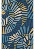 Whirligig Rug in Blue