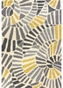Whirligig Rug in Yellow