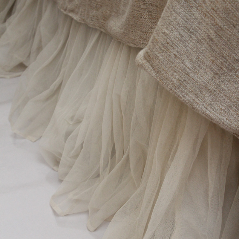 Extra Long King Size Bed Skirt
