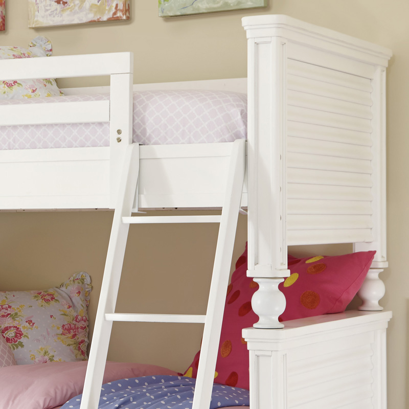 White All American Bunk Bed Rosenberryrooms Com