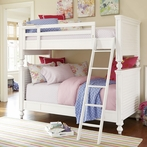 White All American Bunk Bed