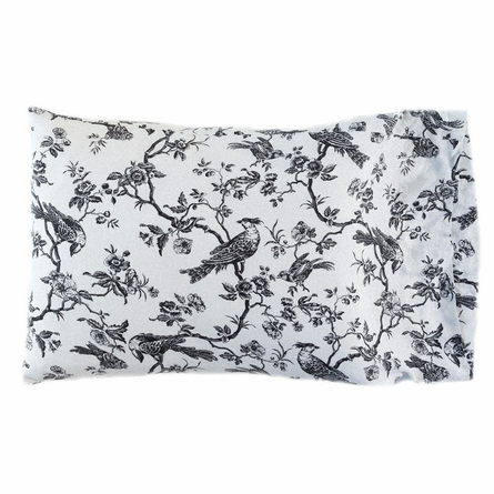 White Bird Toile Pillow Sham