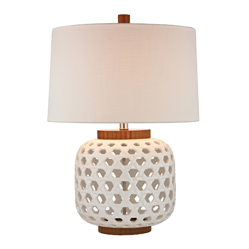 white bleached wood table lamp. Black Bedroom Furniture Sets. Home Design Ideas