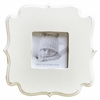 White Carved Wall Frame - Square