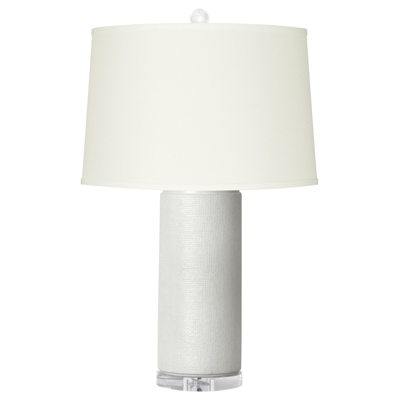 white cleo lamp base by bungalow 5. Black Bedroom Furniture Sets. Home Design Ideas