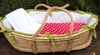 White Collection Moses Basket