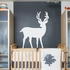 White Deer Wall Decal