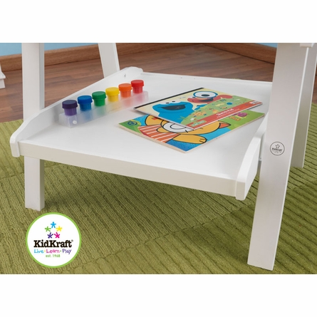 On Sale White Deluxe Wood Easel