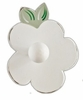 White Flower Wall Hook