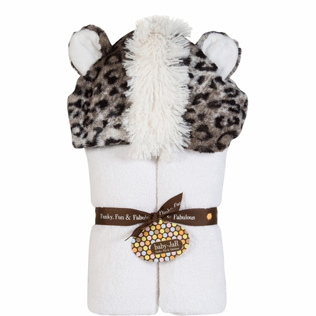 White Jaguar Deluxe Toddler Hooded Towel