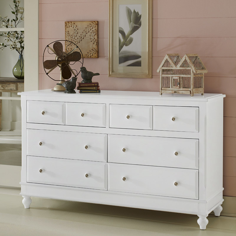 White Lake House 8 Drawer Dresser Rosenberryrooms Com