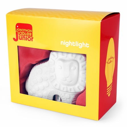 On Sale White Lion Nightlight