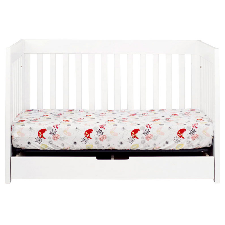 White Mercer Convertible Crib By Babyletto