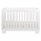 White Modo Convertible Crib