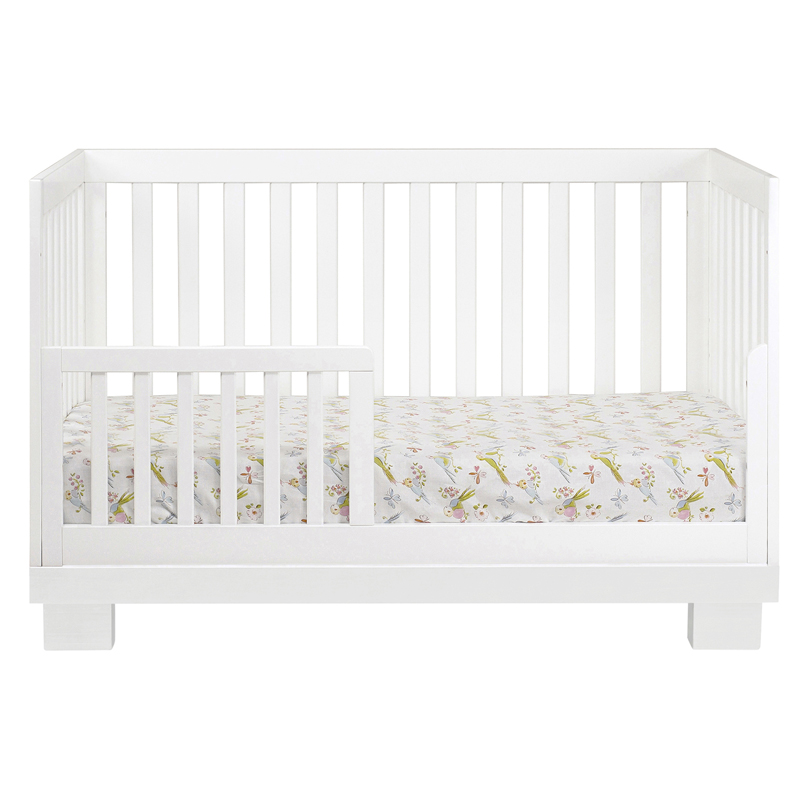 White Modo Convertible Crib By Babyletto Rosenberryrooms Com