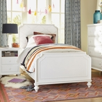 White Panel Bed