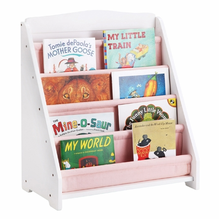 White Personalized Book Display
