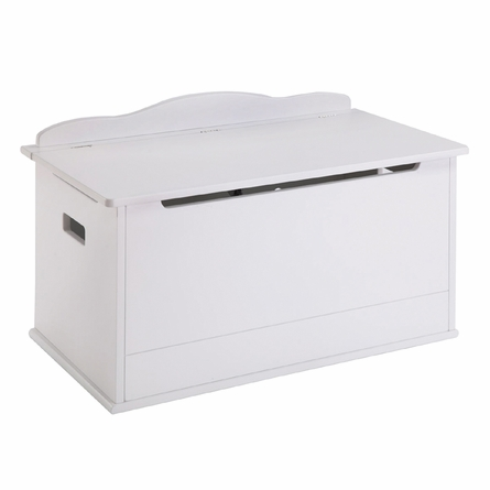 White Personalized Toy Box