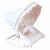 White Pique Infant Rocker