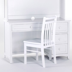 White School House Desk