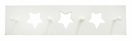 White Star Wall Peg Board