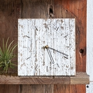 White Unysn Elm Clock