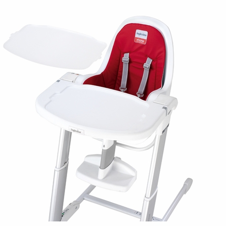 White Zuma Highchair - Light Blue