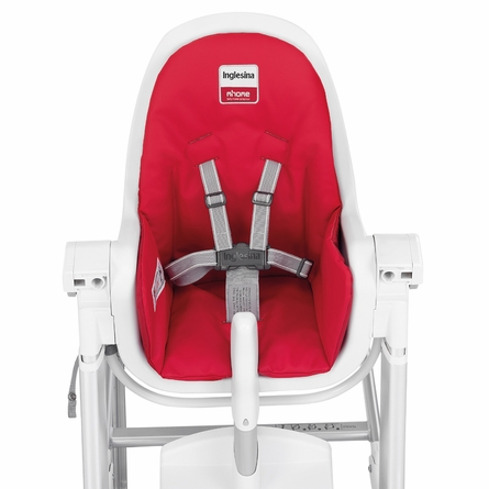 White Zuma Highchair - Pink