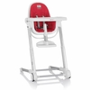 White Zuma Highchair - Red