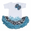 Wild Child Blue Bowtique Tutu Set