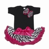 Wild Child Hot Pink Bowtique Tutu Set