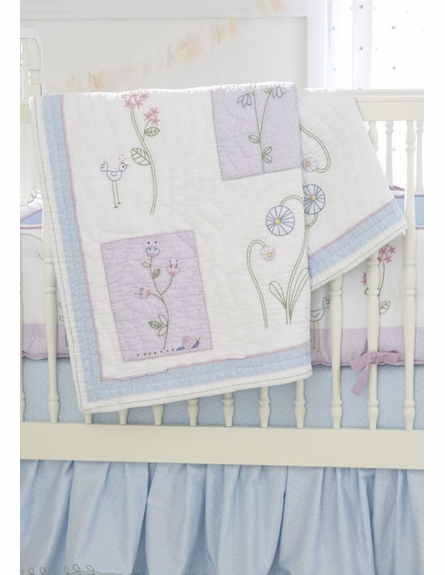 Wildflower Crib Bedding Set
