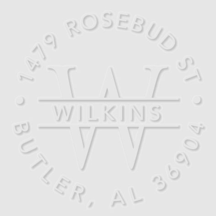 Wilkins Personalized Embosser